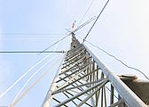 The Club 100 foot mast