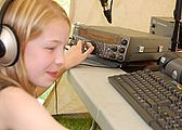 Abigail on TS2000, VHF Field Day